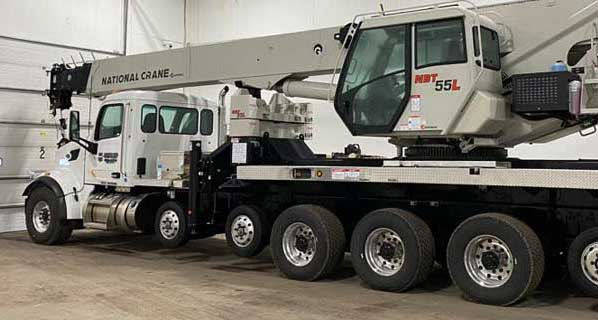 crane services in MN
