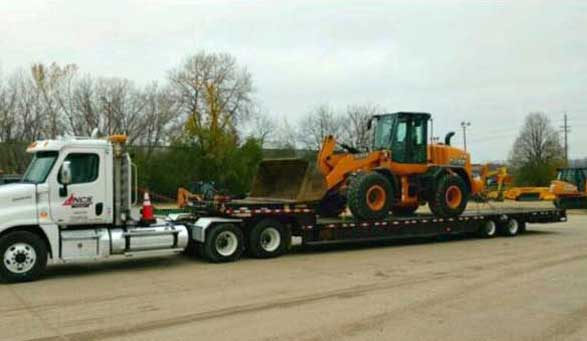 commercial heavy hauling service in Twin Cities MN