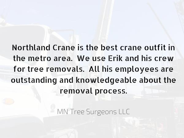 Northland Crane - professional crane service